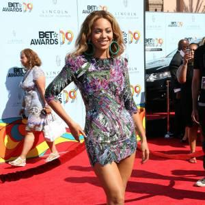 La superbe Beyoncé en Balmain.
