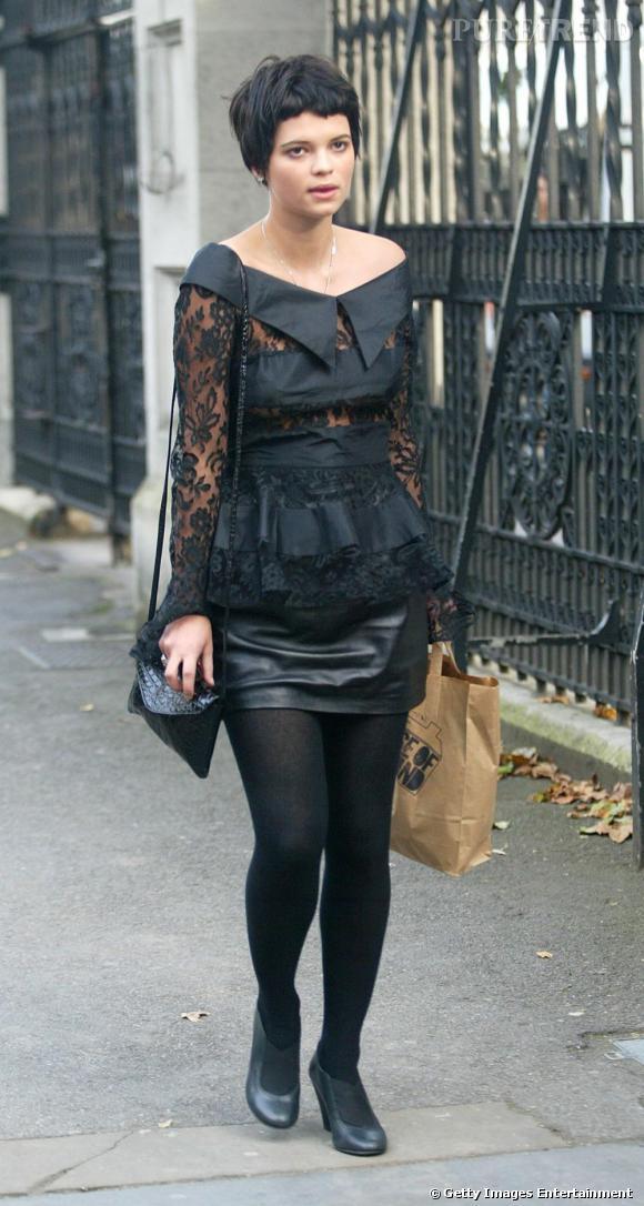 Pixie Geldof, un poil gothique