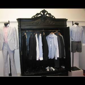 Showroom Marchand Drapier, dressing de chemises