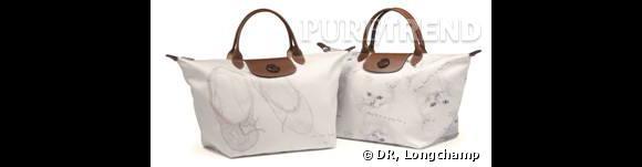 Le sac Longchamp designé par Charles Anastas.
