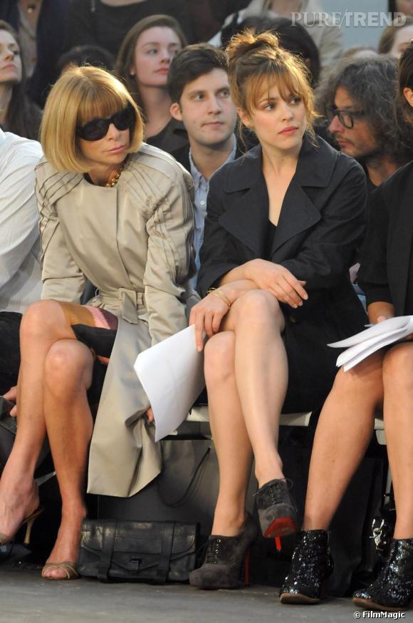 Rachel McAdams était sans conteste la star du défilé  Alexander Wang  . L'actrice avait en effet la chance d'être installée à la place la plus convoitée de toute la fashion week: à coté d'Anna Wintour, la rédactrice en chef du Vogue américain. Il n'en fallait pas plus pour lancer la rumeur fashion: l'actrice ferait la couverture du  Vogue  de janvier 2010.