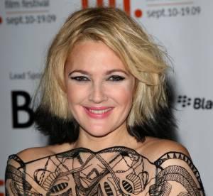 Drew Barrymore  : blonde, brune, rousse, toutes ses coiffures