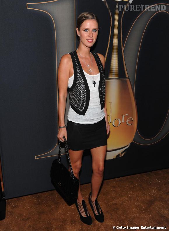 Nicky Hilton à la soirée organisée par Dior en l'honneur des 10 ans de J'adore