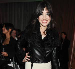 Daisy Lowe in love with son look mini !