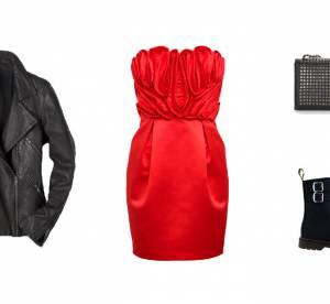 Comment porter la robe bustier pour les fêtes