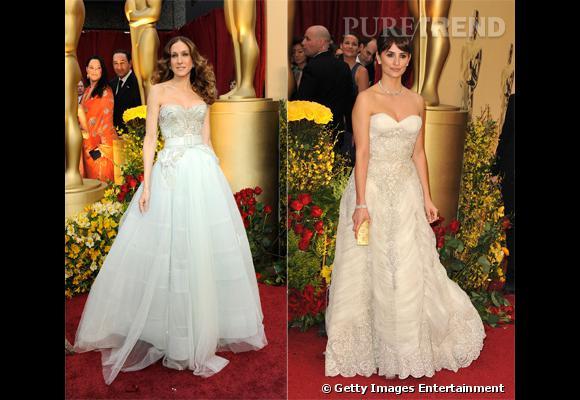 Qui selon vous ferait une mariée idéale : Sarah Jessica Parker ou Penelope Cruz ?