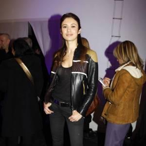 Olga Kurylenko au défilé Jean-Paul Gaultier