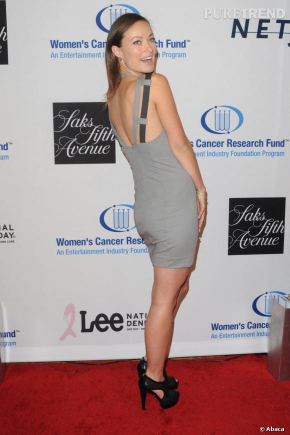 Olivia Wilde lors d'une soirée de charité pour la lutte contre le cancer