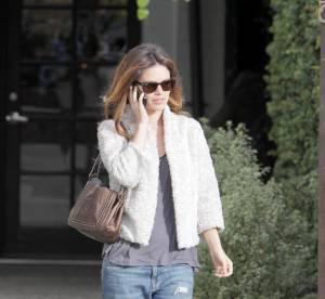 Rachel Bilson, son look décontracté 100% branché à shopper !