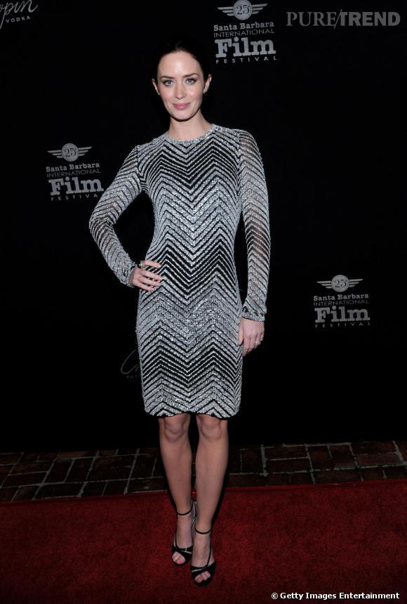 Emily Blunt au festival du film de Santa Barbara