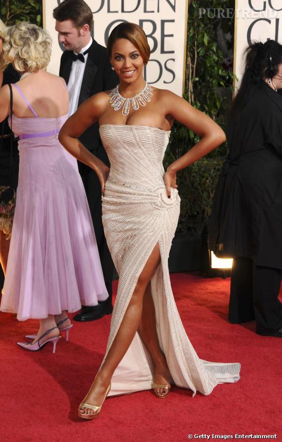 Beyoncé en robe de déesse sur le red carpet
