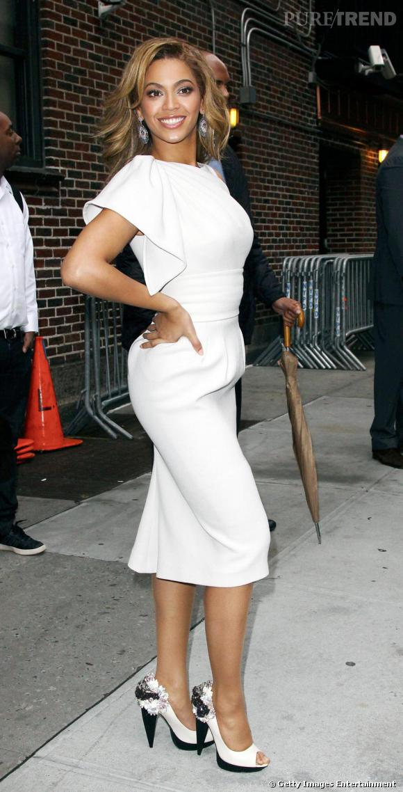 Les escarpins ne quittent jamais les pieds de miss Knowles