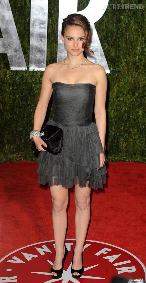 Natalie Portman lors de la soirée Vanity Fair à Los Angeles