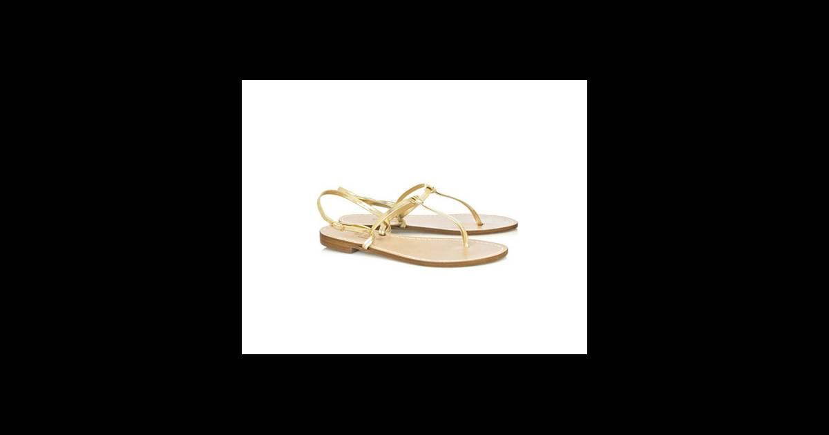 Sandales musa des nu pieds aux brides en cuir fines et for Etre minimaliste