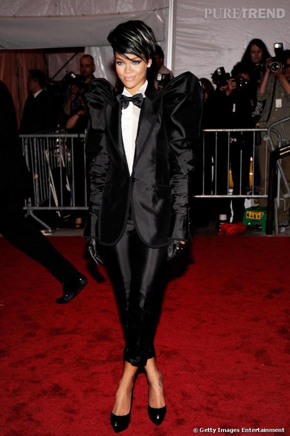 Rihanna joue les garçons, elle est sublime