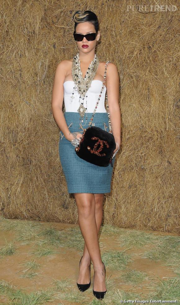 Chanel revisité par Rihanna, tellement moins sage !