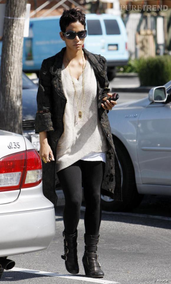 Halle Berry dans les rues de Berverly Hills