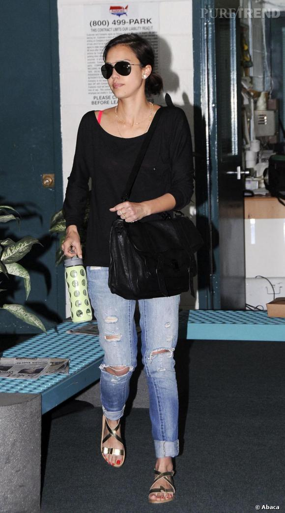 Jessica Alba à Los Angeles
