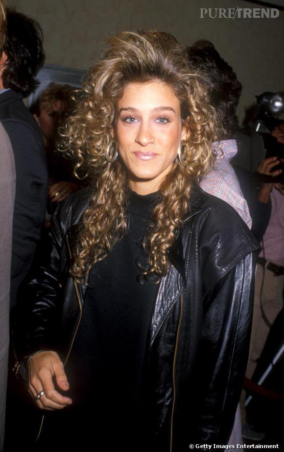 Sarah Jessica Parker en 1984, qui l'aurait imaginée en future Carrie Bradshaw ?