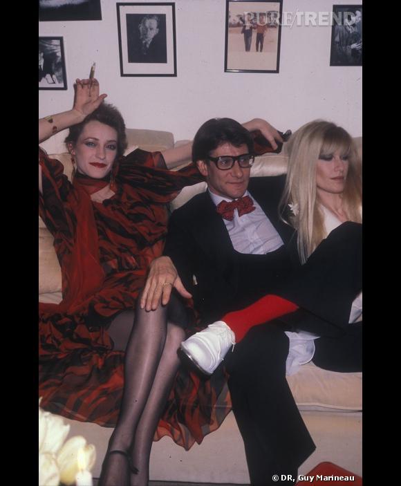 Loulou de la Falaise, Yves Saint Laurent et Betty Catroux