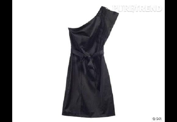 Robe Naf-Naf Pour une soirée habillée, on choisit cette robe asymétrique  glamour. 758dd0b651bd