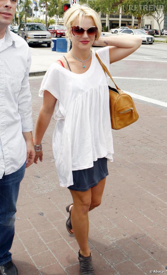 Britney Spears désespérante dans les rues de Los Angeles.