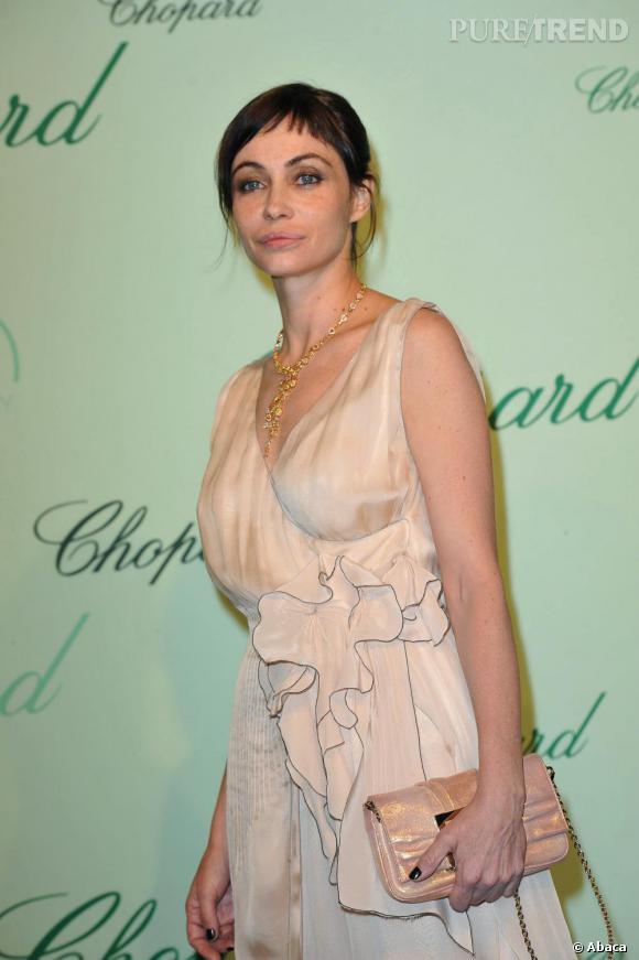 Emmanuelle Béart lors de la soirée Chopard en marge du festival de Cannes