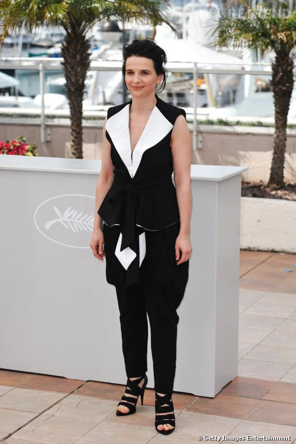 Juliette Binoche à la première de Certified Copy à Cannes