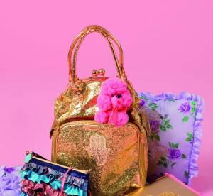 Un sac doré Vannina Vesperini pour Manoush