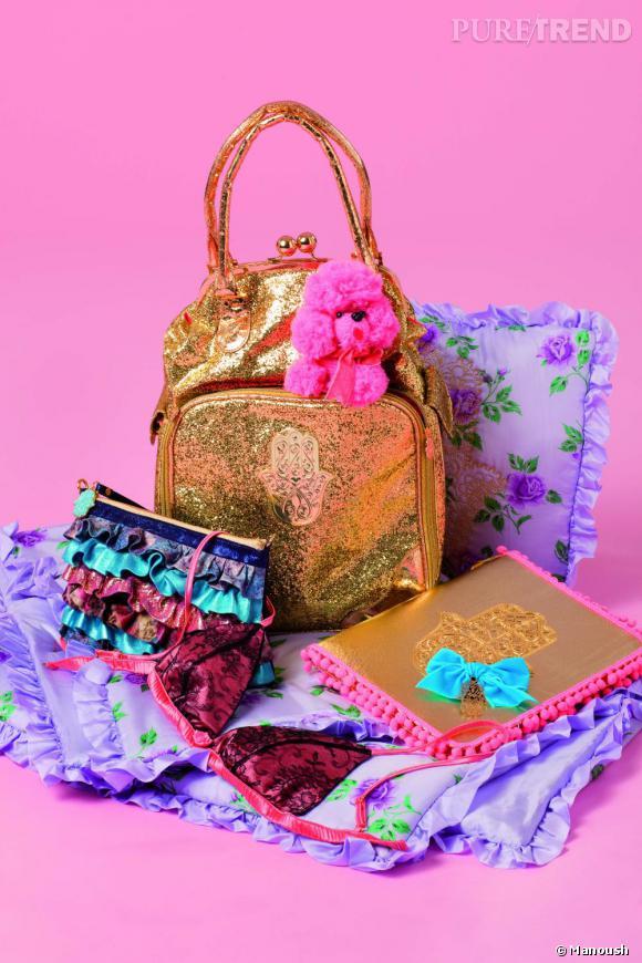 Les créations sensuelles et colorées de Vannina Vesperini s'organisent en 3 thèmes et sont disponibles entre 80 et 145 euros.