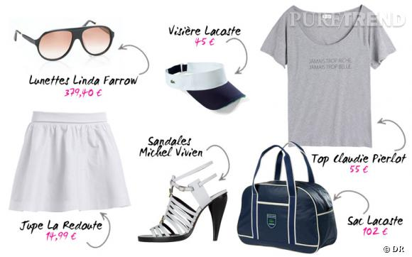Roland Garros version glamour