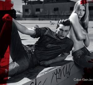 Lara Stone nouvelle égérie Calvin Klein