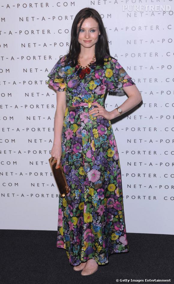 Sophie Ellis Bextor choisit la mauvaise robe pour l'anniversaire de la boutique Net-a-Porter.com