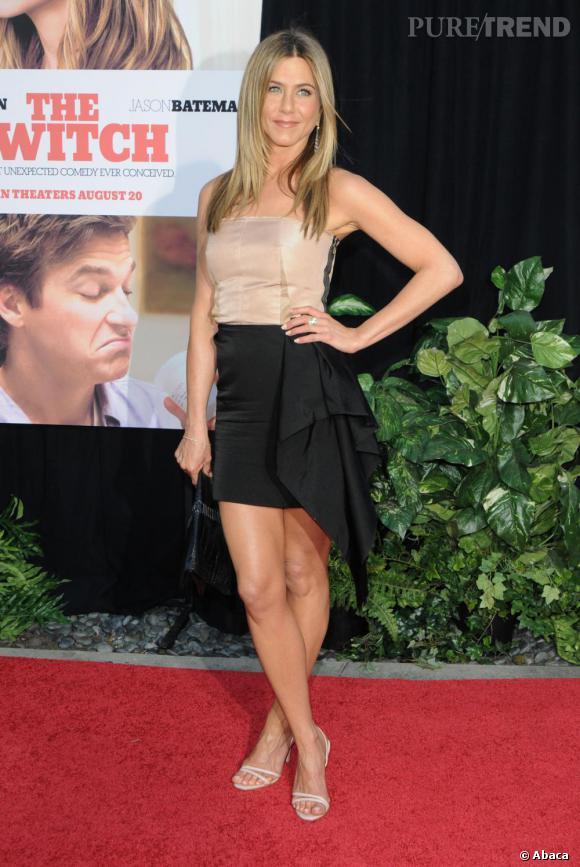 Jennifer à la première de The Switch à Los Angeles.