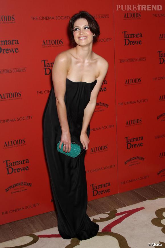Gemma Arterton à la projection de Tamara Drewe à New York pour le Cinema Society.
