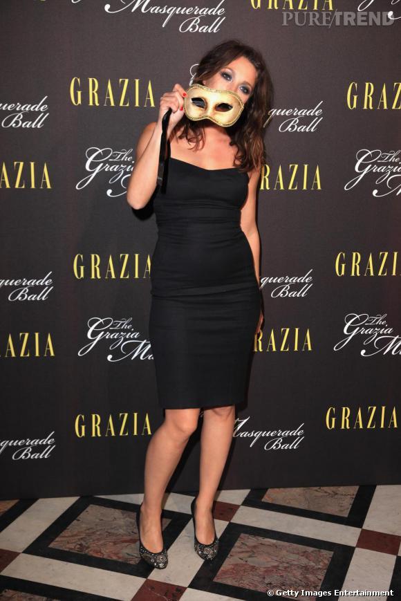 Laura Smet à la soirée Grazia à l'Opéra Garnier.