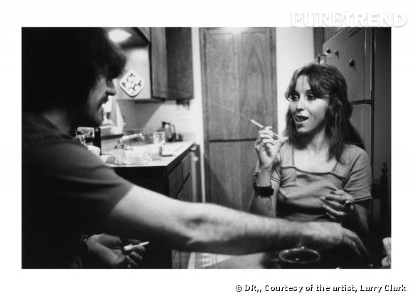 Larry Clark Jack & Lynn Johnson, Oklahoma City, 1973.   Luhring Augustine, New York and Simon Lee Gallery, London