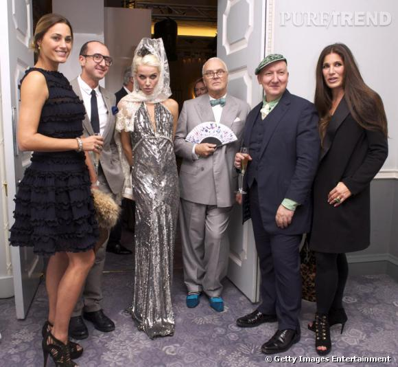 Le jury du Dorchester Collection Fashion Prize.