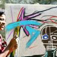 """Jean-Michel Basquiat et la mode     Il signait SAMO - pour """"Same Old Shit"""".  Son pseudo d'artiste accompagné d'une couronne, le sceau de son art."""