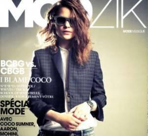 Coco en couverture de Modzik.