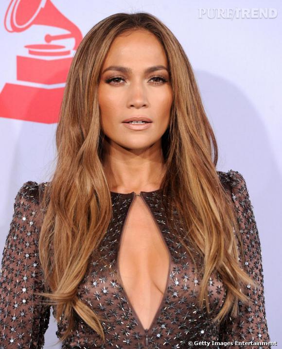 Jennifer Lopez lors des Latin Grammy Awards à Las Vegas.