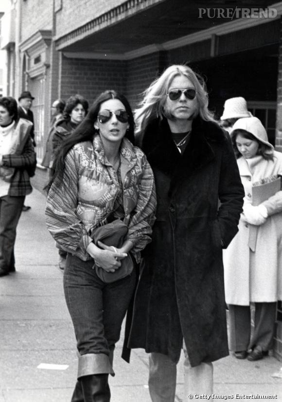 En 1977 avec Gregg Allman, Cher a laissé Sonny de côté depuis quelques années et se construit une image d'amazone moderne.