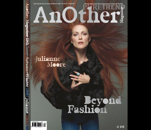 Julianne Moore, veritable Gorgones pour le Fall-Winter 2007.