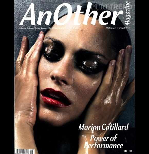 Marion Cotillard pour le Spring Summer 2010, un numéro bien trempé !