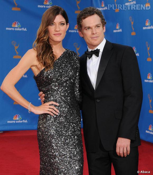 Le couple :  Jennifer Carpenter et Michael C. Hall.    Pourquoi ils ont marqué 2010 ?  Parce que le duo était fascinant : c'est pas tous les jours qu'une actrice sort avec son frère sur petit écran.