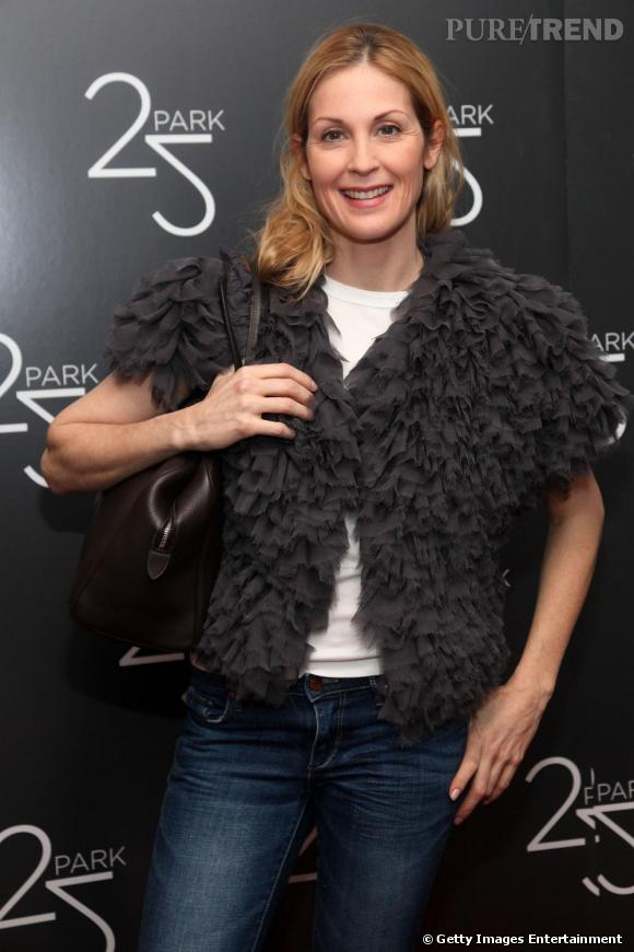 Kelly Rutherford à l'ouverture d'une boutique 25 Park à New York.