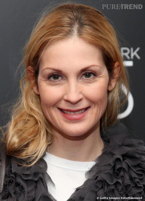 Même sans une épaisse couche de make-up l'actrice est ravissante.