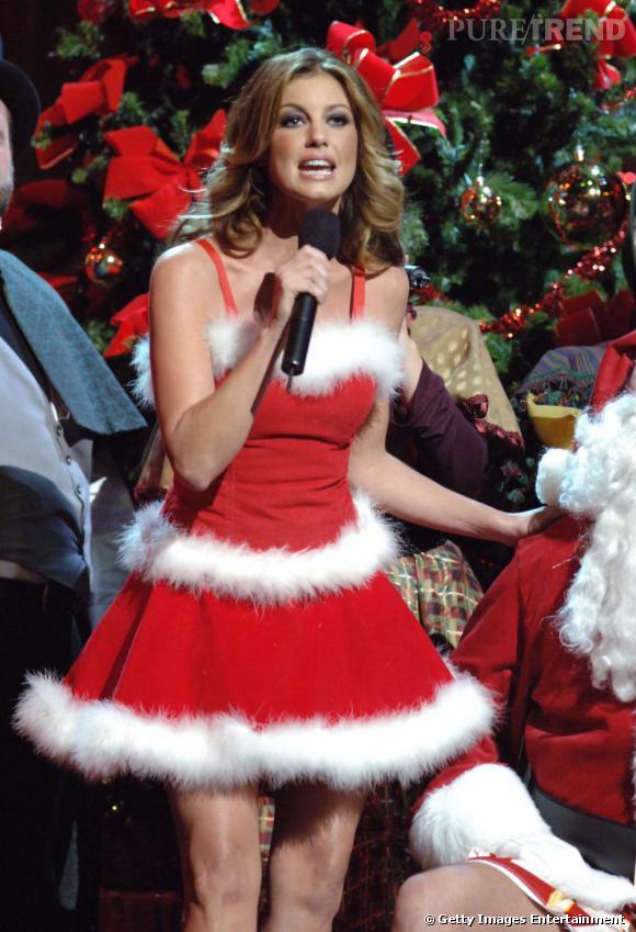 La chanteuse de country Faith Hill s'est elle aussi prêtée au jeu.
