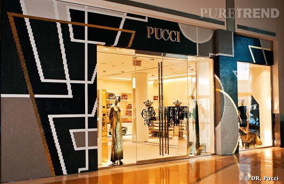 Nouvelle boutique Emilio Pucci de Las Vegas.
