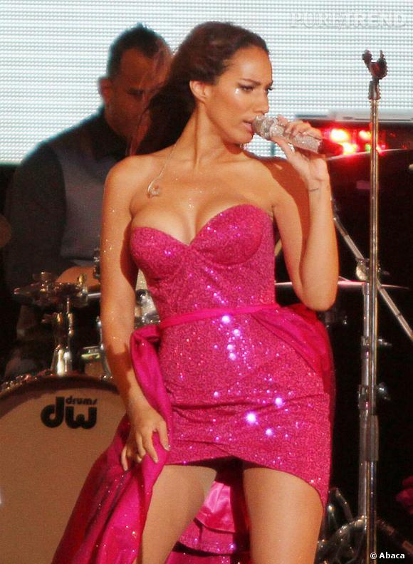 Leona Lewis à Miami pour le réveillon du Nouvel An.